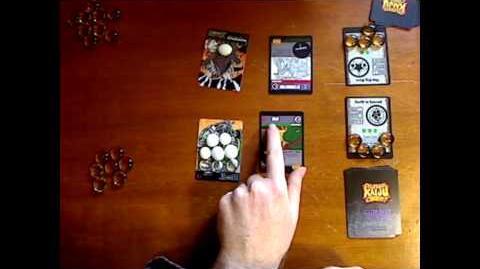 CKC Sample Card Game Fight - KOMA vs. Warmadillo