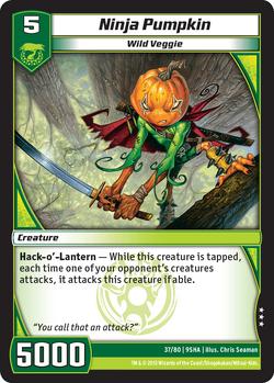 Ninja Pumpkin (9SHA)