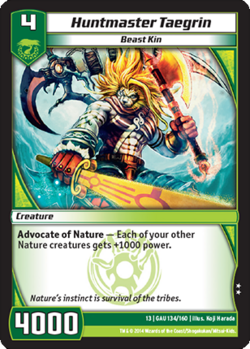 Huntmaster Taegrin (13GAU)