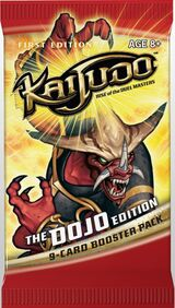 The Dojo Edition booster pack