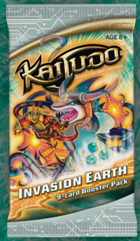 Invasion Earth booster pack