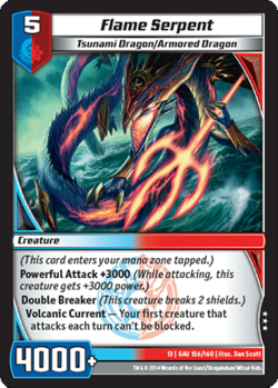 Flame Serpent (13GAU)