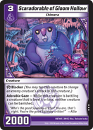 Scaradorable of Gloom Hollow (3RIS)
