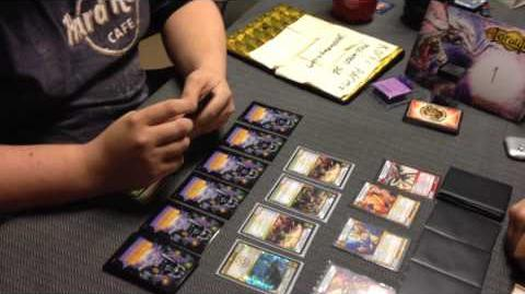 Finals game 2 NEKO (LN Creature Control) vs ratmforthewin (LWF Quartz) - Kaijudo draft Sweden
