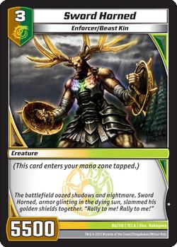Sword Horned (7CLA)