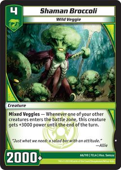 Shaman Broccoli (7CLA)