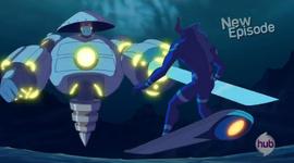 Cyborg Samurai attack mode