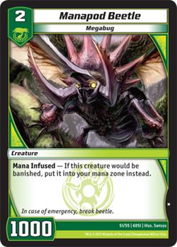 Manapod Beetle (6DSI)