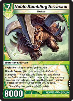 Noble Rumbling Terrasaur (7CLA)