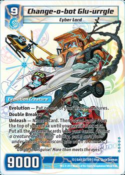 Change-o-bot Glu-urrgle (13GAU)