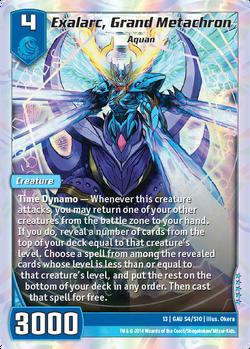 Exalarc, Grand Metachron (13GAU)