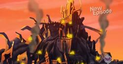 Destroyed Blastforge City