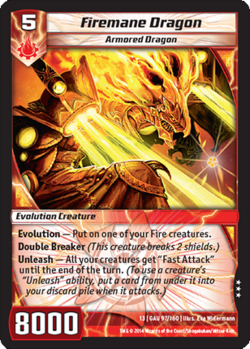 Firemane Dragon (13GAU)