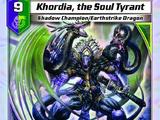 Khordia, the Soul Tyrant