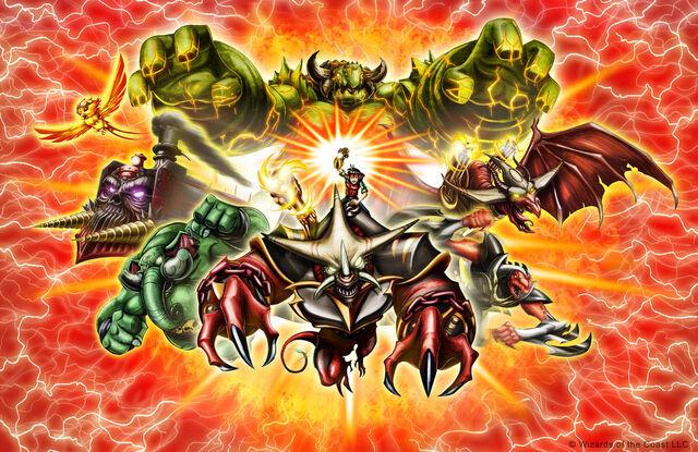 File:Kaijudo Creatures Poster.jpg