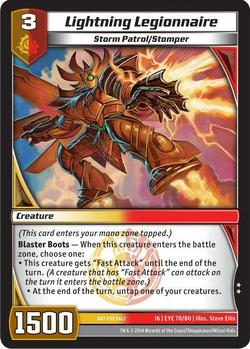 Lightning Legionnaire (16EYE)