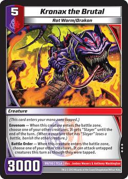 Kronax the Brutal (7CLA)