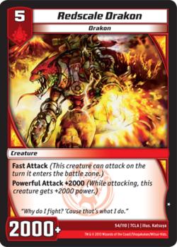 Redscale Drakon (7CLA)