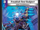 Freakish Test Subject