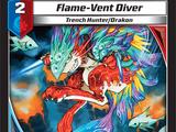 Flame-Vent Diver