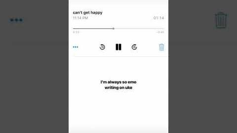 Kailee Morgue - can't get happy (Snippet)