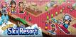 Shiny Ski Resort Banner