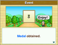 Getting Medal-DungeonVillage.png
