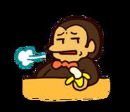 LINE sticker - Chimpan Z