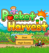 Pocket Harvest - Title Screen