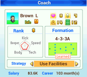 Coach Info - Pocket League Story