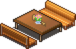 Bench - cafeteria nipponica