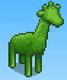 Giraffe Topiary (Basketball Club Story)
