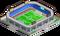 Stadium-venture towns