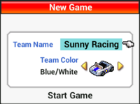 Team Name Team Color - Grand Prix Story
