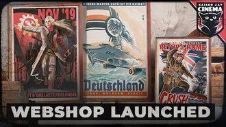 Kaiserreich Merchandise - Kaiserreich Webshop Launch