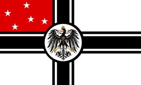 Mittelafrika Flag