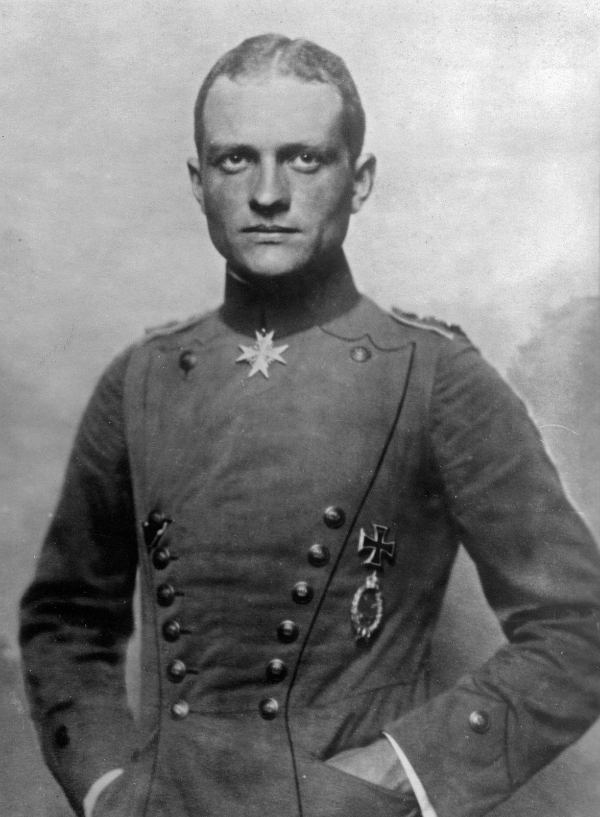 Manfred Von Richtofen portrait