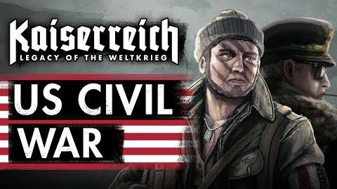 World Of Kaiserreich - US Civil War - part 1 - USA