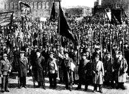 Krasnaia gvardia petrograd 1.05.1917
