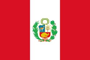 Peru Flag Peace