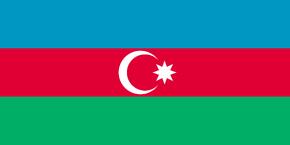 Azerbaijan Flag 2