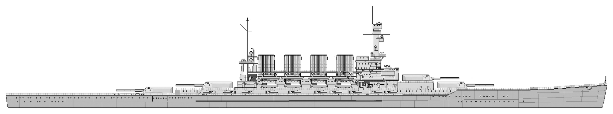 Kaiser Wilhelm-class Super Heavy Dreadnought | The