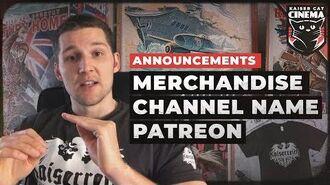 Announcements - Kaiserreich Merchandise, Patreon, New Channel Name