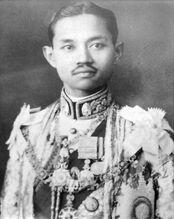 King Prajadhipok portrait photograph
