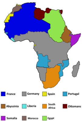 Africa after British revolution