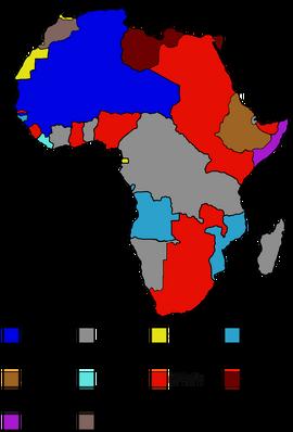 Africa after Weltkrieg