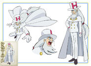 Silver Heart Character Design
