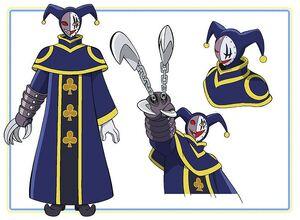 Professor Clover Character Design