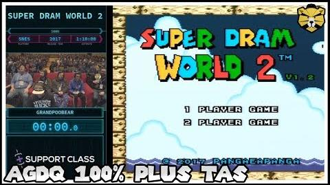 Super Dram World 2 by Grand POOBear (AGDQ 2018)