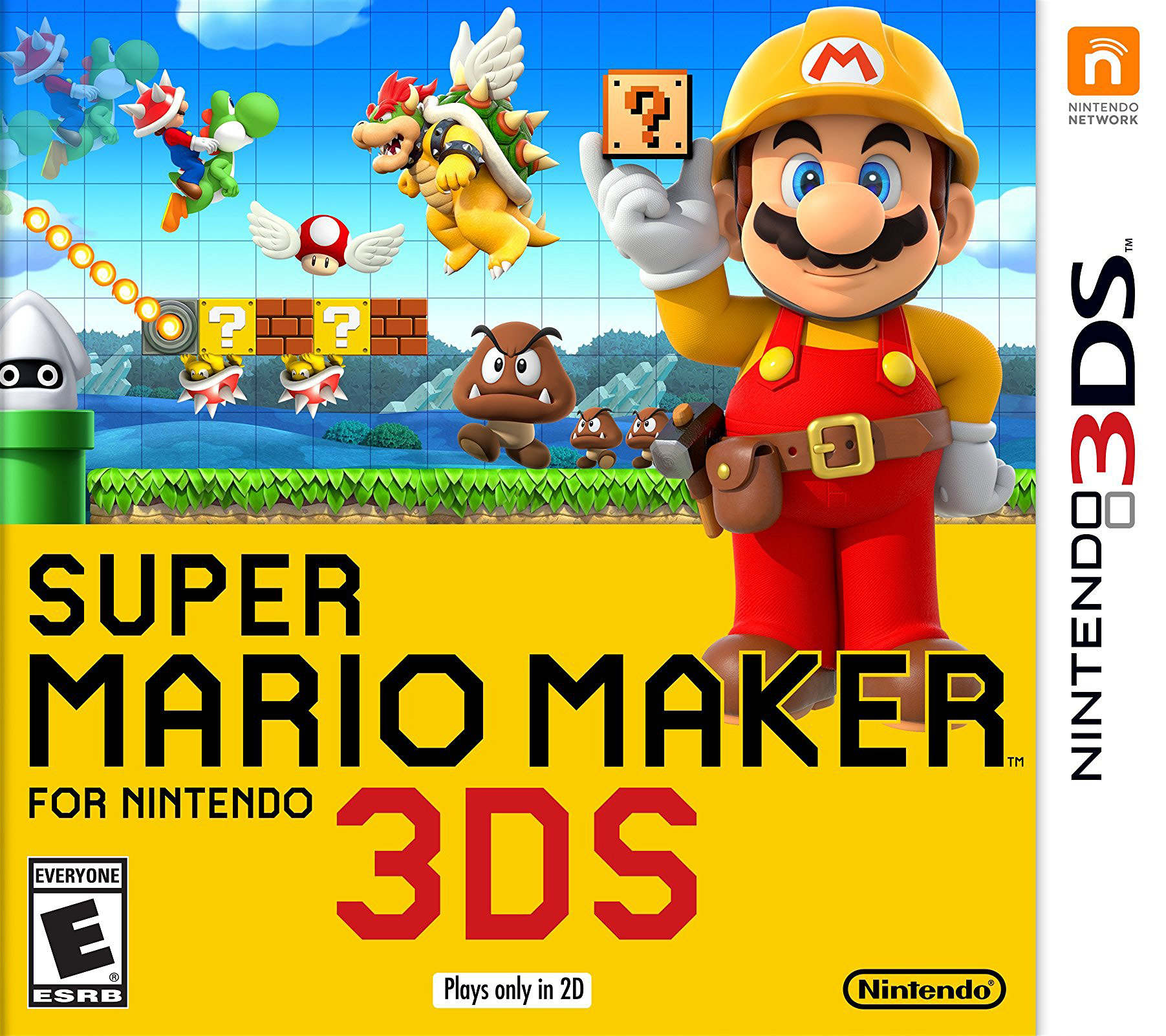 Super Mario Maker for Nintendo 3DS | Kaizo Mario Maker Wikia